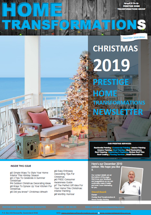 2019 December Edition - Prestige Home Transformations Cover